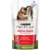 Pro Plan Cat Treats Protein Crunch with Real Lamb Cat Snacks