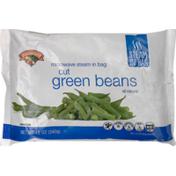 Hannaford Microwave Steam-in-Bag Cut Green Beans