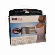 ObusForme Large Medium Light Grey Adjustable Female Back Belt With Built In Lumber Support