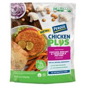 Perdue CHICKEN PLUS Chicken Breast Vegetable Patties