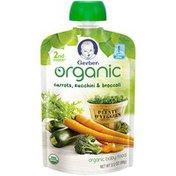 Gerber Organic 2 Nd Foods Organic Carrots, Zucchini & Broccoli Baby Food