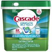 Cascade ActionPacs All-in-1 Lemon Burst Scent Dishwashing Detergent