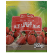 Our Family Fresh Frozen Whole Strawberries