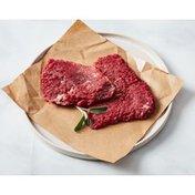 Choice Boneless Cubed Beef Chuck Top Blade Steak