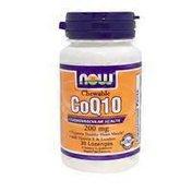 Now CoQ-10 200 mg Chewable Lozenges