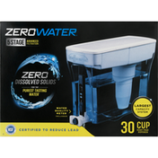 ZeroWater Water Filter Dispenser, Ready-Pour, 30 Cup