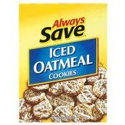Always Save Iced Oatmeal Cookies Box