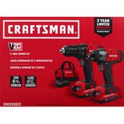 Craftsman 2-Tool Combo Kit