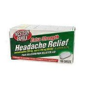 Western Family Extra Strength Headache Relief