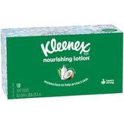 Kleenex Soothing Lotion Facial Tissues Flat Box