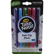 Crayola Marker Pens, WAshable, Felt-Tip