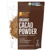BetterBody Foods Organic Cacao Powder, Gluten-Free Superfood