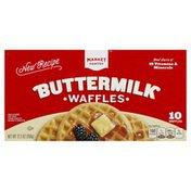 Market Pantry Waffles, Buttermilk
