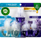 Air Wick Scented Oil Refills, Fresh Linen/Lavender & Chamomile