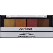 CoverGirl Eyeshadow Quad Palette, Trunaked, Desert Glamping 755