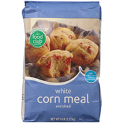 Food Club White Enriched Corn Meal