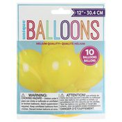 Unique Balloons, 12 Inches