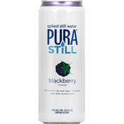 Pura Still Beer, Spiked Still Water, Blackberry