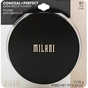 Milani Shine-Proof Powder, Fair 01
