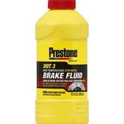 Prestone Brake Fluid, High Temperature Synthetic, DOT 3