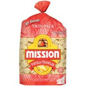 Mission Triangles Restaurant Style 2 Ct Tortilla Chips