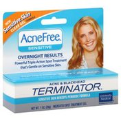 AcneFree Acne & Blackhead Terminator, Sensitive Skin