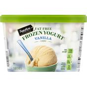 Signature Select Frozen Yogurt, Fat Free, Vanilla