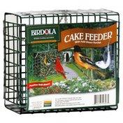 Birdola Cake Feeder, with Fold-Down Perches