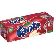Fanta Apple Fruit Flavored Soda Soft Drink