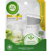 Air Wick Fragrance Diffuser, Apple Blossom & Cotton, Upwards + Outwards