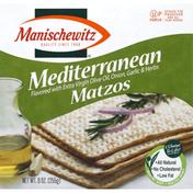 Manischewitz Matzos, Mediterranean