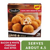 Stouffer's Bacon & White Cheddar Mac Bites Frozen Appetizer