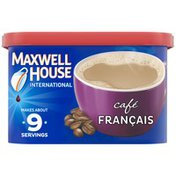 Maxwell House International Cafe Francais Cafe-Style Instant Coffee Beverage Mix