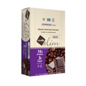 NuGo Slim Espresso, Vegan, Gluten Free, Low Sugar, High Protein Bar