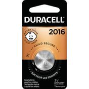 Duracell Battery, Lithium, 3V, 2016