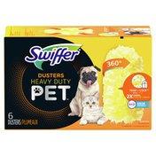 Swiffer Duster Multi-Surface Pet Heavy Duty Refills With Febreze Odor Defense