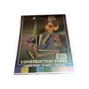 Roaring Springs Construction Paper, 9 x 12 in, Assorted Colors, Bonus Pack