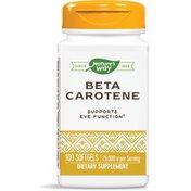 Nature's Way Natural Beta Carotene