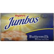 Hy-Vee Biscuits, Buttermilk, Jumbos