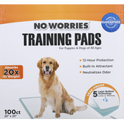 No Worries Training Pads