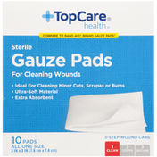 TopCare Sterile Gauze Pads