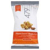 479 Popcorn, Artisan, Chipotle Caramel + Pumpkin Seeds