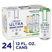 Michelob ULTRA Organic Hard Seltzer, Variety Pack, Slim Cans