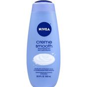 Nivea Body Wash, Moisturizing, Creme Smooth