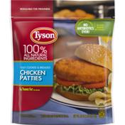 Tyson Fully Cooked Chicken Patties, Frozen