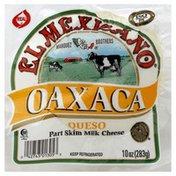 El Mexicano Cheese, Part Skim Milk, Oaxaca