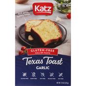 Katz Texas Toast, Gluten-Free, Garlic