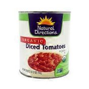 Natural Directions Organic Diced Tomatoes