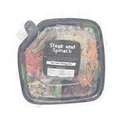 Meijer Steak & Spinach Salad