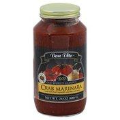 Don Vito Pasta Sauce, Crab Marinara